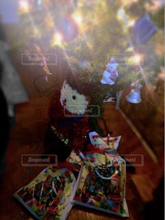 プレゼント,キラキラ,クリスマス