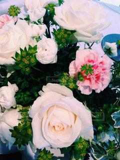 花,白,花束,フラワーアレンジメント,バラ,flower