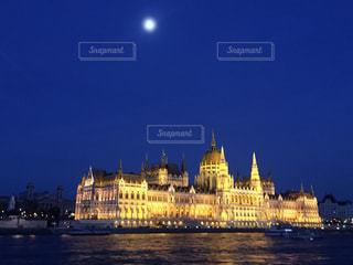 ブダペストの夜景の写真・画像素材[1697069]