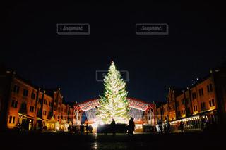 冬,イルミネーション,クリスマス,横浜,クリスマスツリー,赤レンガ,冬の空,Christmas,christmastree