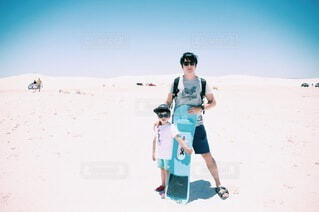 白砂漠の写真・画像素材[3878721]