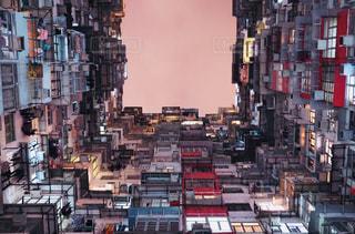 混雑した街の写真・画像素材[1021490]