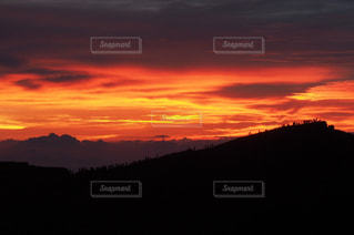 日没の前に雲の写真・画像素材[1272110]
