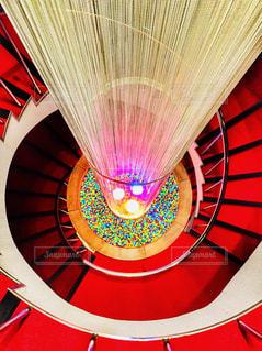 真っ赤な螺旋階段 - No.927155