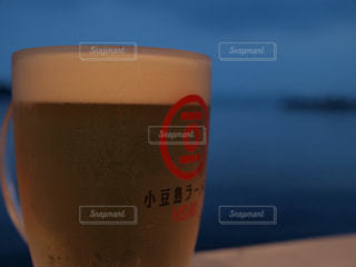 ラーメン屋のビールの写真・画像素材[336316]