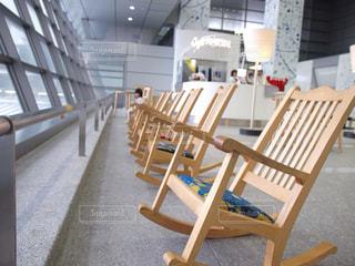 駅,椅子,福岡,博多,博多駅,ロッキングチェア