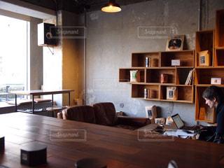 カフェの写真・画像素材[597574]