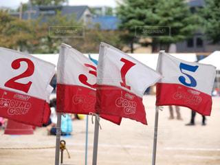 運動会の旗の写真・画像素材[771164]