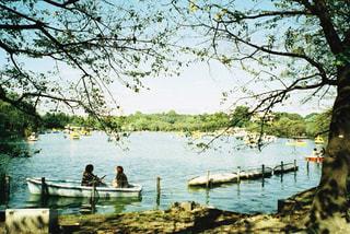 公園のボートの写真・画像素材[1232949]