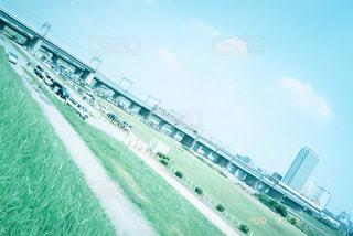 河川敷の写真・画像素材[1250446]
