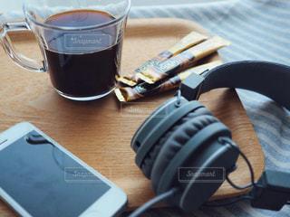 音楽とコーヒーの写真・画像素材[1277813]