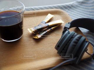 音楽とコーヒーの写真・画像素材[1277825]