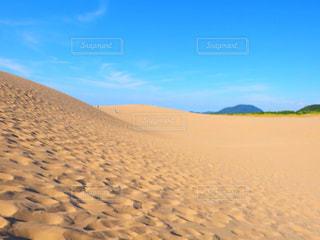 夏,砂浜,暑い,砂漠,砂丘,熱中症