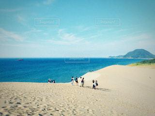 砂丘の写真・画像素材[1424112]