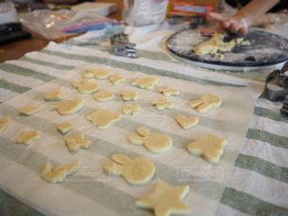 クッキー作りの写真・画像素材[1466627]