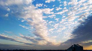 空,秋,雲,うろこ雲