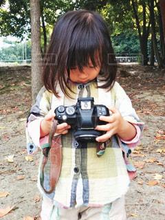 未来のカメラ女子の写真・画像素材[1567098]
