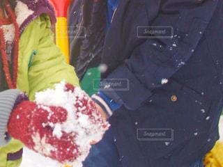 雪遊びの写真・画像素材[1812610]