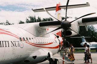 海外,飛行機,観光,プロペラ,海外旅行,タヒチ