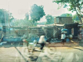 自転車,海外,道路,インド,海外旅行