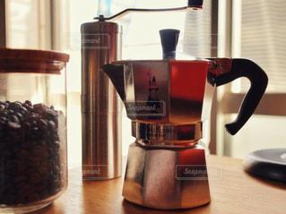 コーヒーセットの写真・画像素材[1856096]