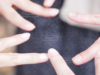 ハンドサインの写真・画像素材[2030892]