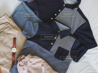 親子ポロシャツの写真・画像素材[2139247]