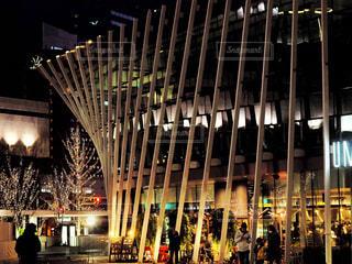 建物,夜,屋外,大阪,イルミネーション,都会,飲食店,店,レストラン,明るい,グランフロント,グランフロント大阪