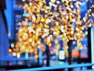 夜,綺麗,青,ぼかし,イルミネーション,ライトアップ,照明,明るい,幻想,グランフロント大阪