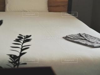 ホテルの部屋着の写真・画像素材[3363097]