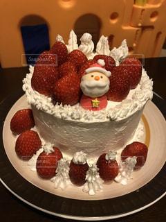 いちご,クリスマス,サンタクロース,手作り,クリスマスケーキ