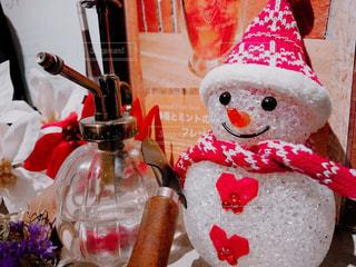冬,クリスマス,雪だるま,レストラン,ほっこり