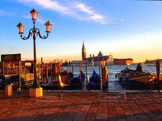 ヴェネチアの夕刻の写真・画像素材[933848]