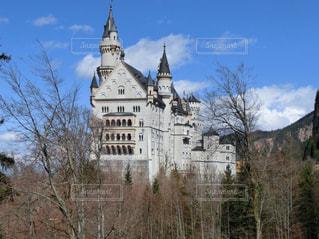 時計塔のある城の写真・画像素材[931662]