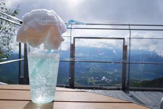 トマムの雲海テラスで飲む雲海ソーダ - No.932708