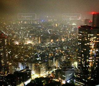展望台からの夜景の写真・画像素材[933630]