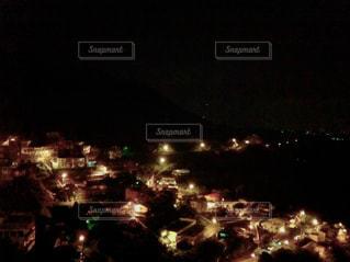 台湾・九份の夜景の写真・画像素材[941236]