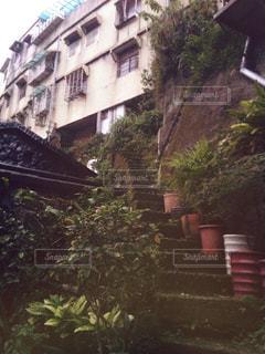 台湾・九份の階段の写真・画像素材[941238]