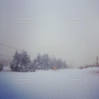 雪に覆われた斜面 - No.941510
