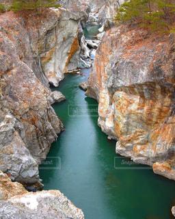 近くの岩のアップの写真・画像素材[1020985]