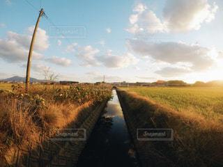 田舎空の写真・画像素材[1861032]