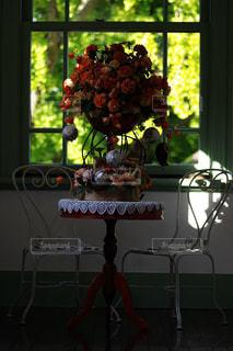 花,ピンク,室内,装飾,フラワーアレンジ