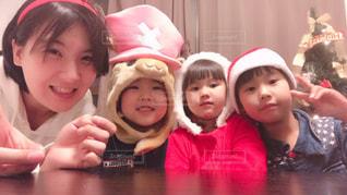 家族,女の子,クリスマス,可愛い,ツリー,サンタ,コスプレ,男の子,family,なかよし,トナカイ,チョッパー