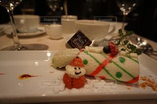 ケーキ,いちご,苺,クリスマス,雪だるま,神楽坂,ロールケーキ