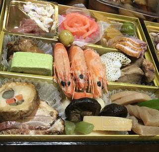 楽しい,おせち,日本,おせち料理,お正月,和食,伝統,四角