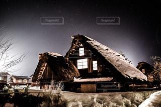 夜空,星,旅行,白川郷,NikonD5300