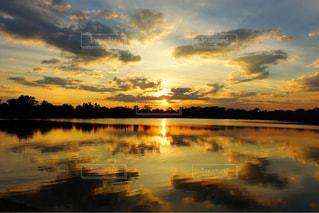 美しい水面の写真・画像素材[959078]