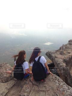 山頂から見る絶景♡の写真・画像素材[2231837]