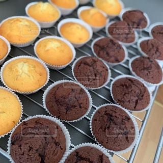 手作りカップケーキの写真・画像素材[3279040]