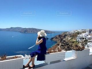 海を眺めてのんびり♡の写真・画像素材[3451046]